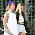 Justin Bieber e Hailey Rhode visitaram um cartório em Nova York em setembro de 2018