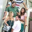 Giulia Costa curte passeio com a família do DJ Philippe Correa, em shopping do Rio de Janeiro, nesta sexta-feira, 23 de novembro de 2018