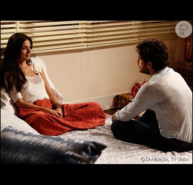 Sandra (Isis Valverde) revela a Rafael (Marco Pigossi) que Gilda (Leticia Spiller) e Fernando (Marco Pigossi) têm um caso, em 15 de setembro de 2014, em 'Boogie Oogie'