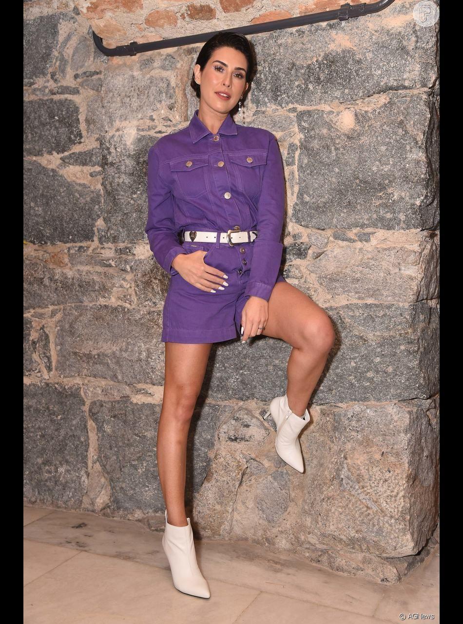 Cabelo curto de Fernanda Paes Leme é criticado e atriz se posiciona no Instagram nesta quarta-feira, dia 05 de dezembro de 2018