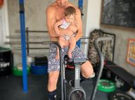 Treino com a filha! José Loreto exibe Bella na academia em foto: 'Crossfit kids'