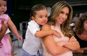 Filhos de Patricia Abravanel roubam a cena nos bastidores do SBT: 'Uma festa'