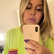 Estilosa, Marília Mendonça usa t-shirt neon e calça pink: 'Básica'. Foto!