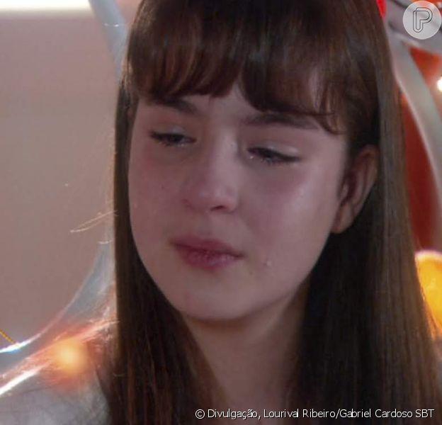 Na novela 'As Aventuras de Poliana', Poliana (Sophia Valverde) decidirá sair da escola Ruth Goulart