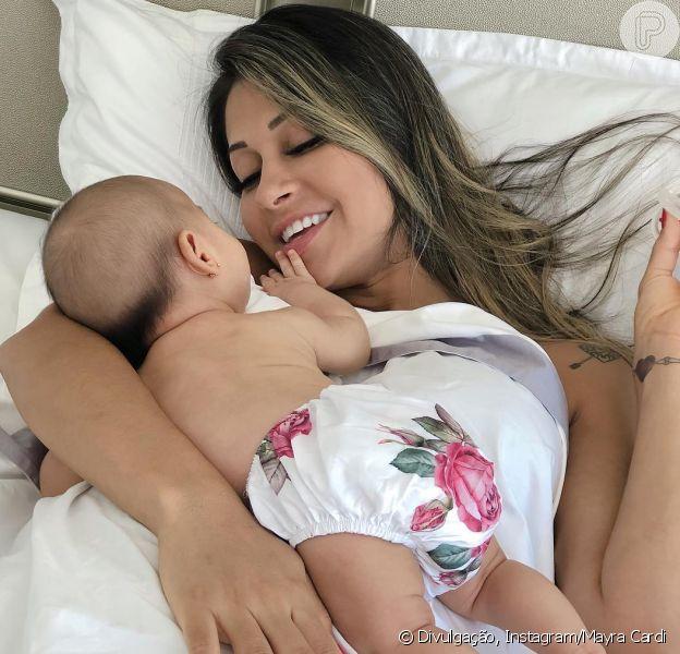 Após críticas, Mayra Cardi deixa web 2 meses após filha nascer, como indicou em postagem nesta quarta-feira, dia 12 de dezembro de 2018