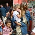 Gisele Bündchen é mãe de Vivian, de 6 anos, e Benjamin, de 9