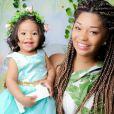 Yolanda, filha de Juliana Alves, está atualmente com um ano e dois meses