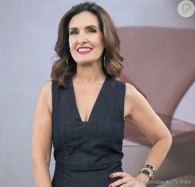Fátima Bernardes elogiou Ana Furtado após última sessão de radioterapia no 'Encontro' desta terça-feira, 18 de dezembro de 2018