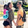 Títi, filha de Giovanna Ewbank e Bruno Gagliasso, ganhou um penteadeira com luzes em seu quarto