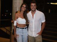 Joaquim Lopes leva a nova namorada, Marcella Fogaça, a show de Silva. Fotos!