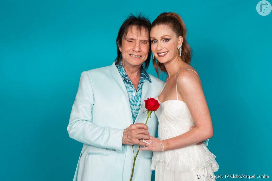 Marina Ruy Barbosa é elogiada na web por dueto com Roberto Carlos nesta sexta-feira, dia 21 de dezembro de 2018