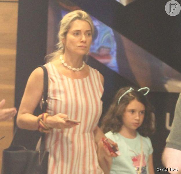 Leticia Spiller curte dia de folga com a filha, Stella, nesta quinta-feira, dia 27 de dezembro de 2018