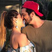 Luan Santana posta foto romântica com namorada, Jade Magalhães: 'Só quero você'