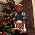 Eliana compartiha vários momentos da vida dos filhos, Arthur e Manuela