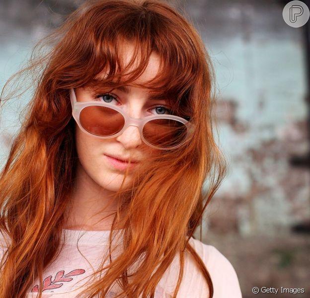 Retrô: os óculos de sol ovais, que tem lentes bem pequenas foram um dos itens mais buscados no Pinterest em 2018.
