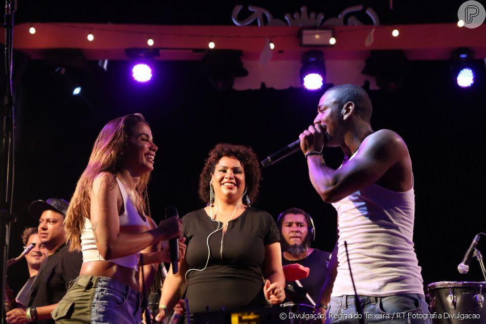 Anitta admitiu erro ao chamar Nego do Borel para seu ensaio de carnaval, mas ponderou: 'Ele não é do mal'