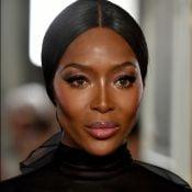 Valentino leva Naomi Campbell e muito volume para a Paris Fashion Week