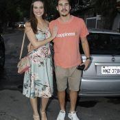 Juliana Paiva elege look romântico para despedida de 'O Tempo Não Para'. Fotos!