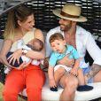 Casada com Gusttavo Lima, Andressa Suita encantou os fãs com foto dos filhos