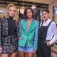 Fiorella Mattheis, Bruna Marquezine e Anna Fasano foram as convidadas da marca para o evento