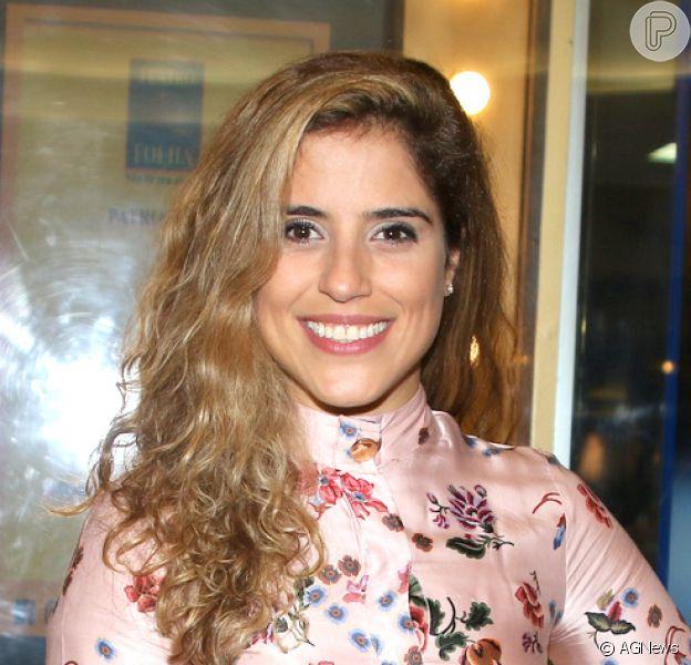 Camilla Camargo relatou desejo na primeira gravidez: 'Tomate com sal'