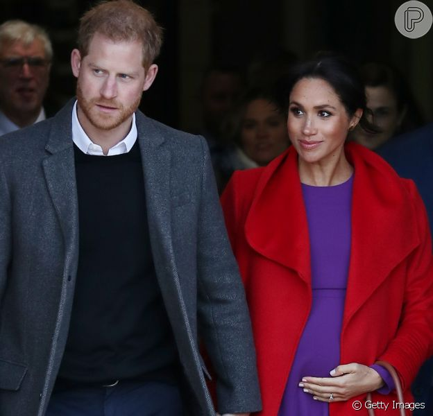 Meghan Markle e Príncipe Harry optam por não descobrir sexo do filho, como revelou revista neste sábado, dia 09 de fevereiro de 2019