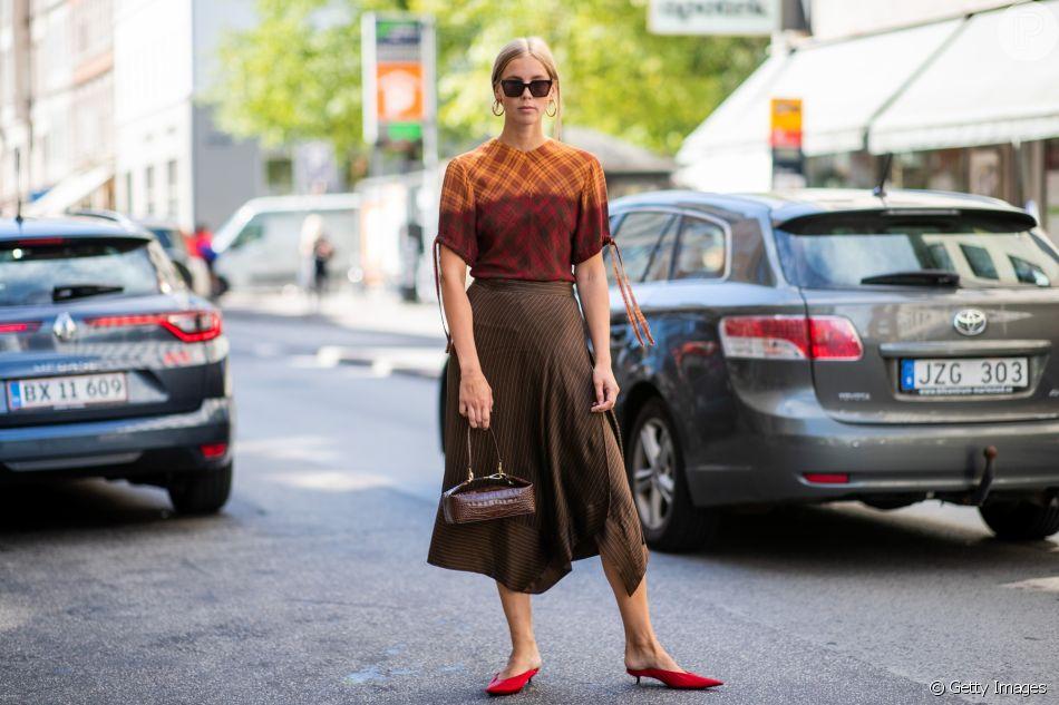 Sapato mule: o modelo com salto baixo é sofisticado e confortável