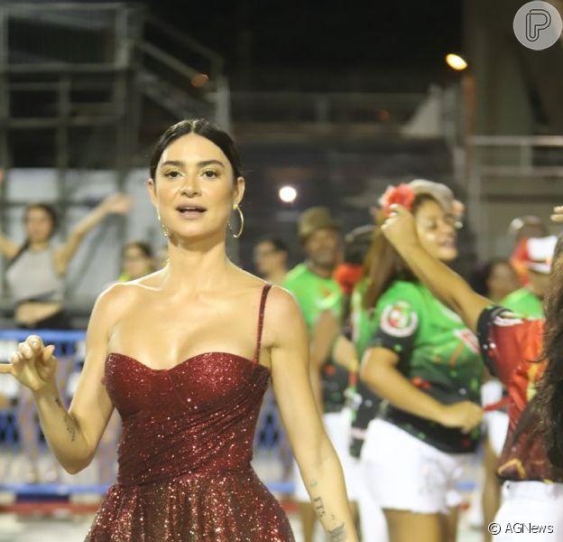 Thaila Ayala explicou ao Purepeople a falta de preparação para o carnaval: 'Operei há cinco meses'