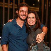 Fátima Bernardes e namorado se disfarçam de 'La Casa de Papel' em Olinda. Veja!