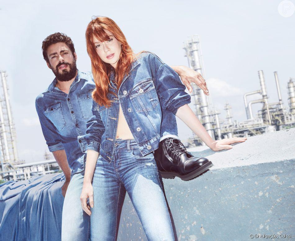 Vestido jeans colcci 2019