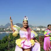 Falta pouco! Famosos entram no clima faltando uma semana para o Carnaval