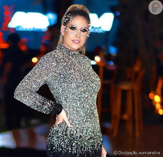 Mulher de Wesley Safadão, Thyane Dantas negou nova gravidez do cantor