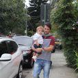 Famosos levam os filhos para a festa da filha do diretor Mauro Mendonça Filho