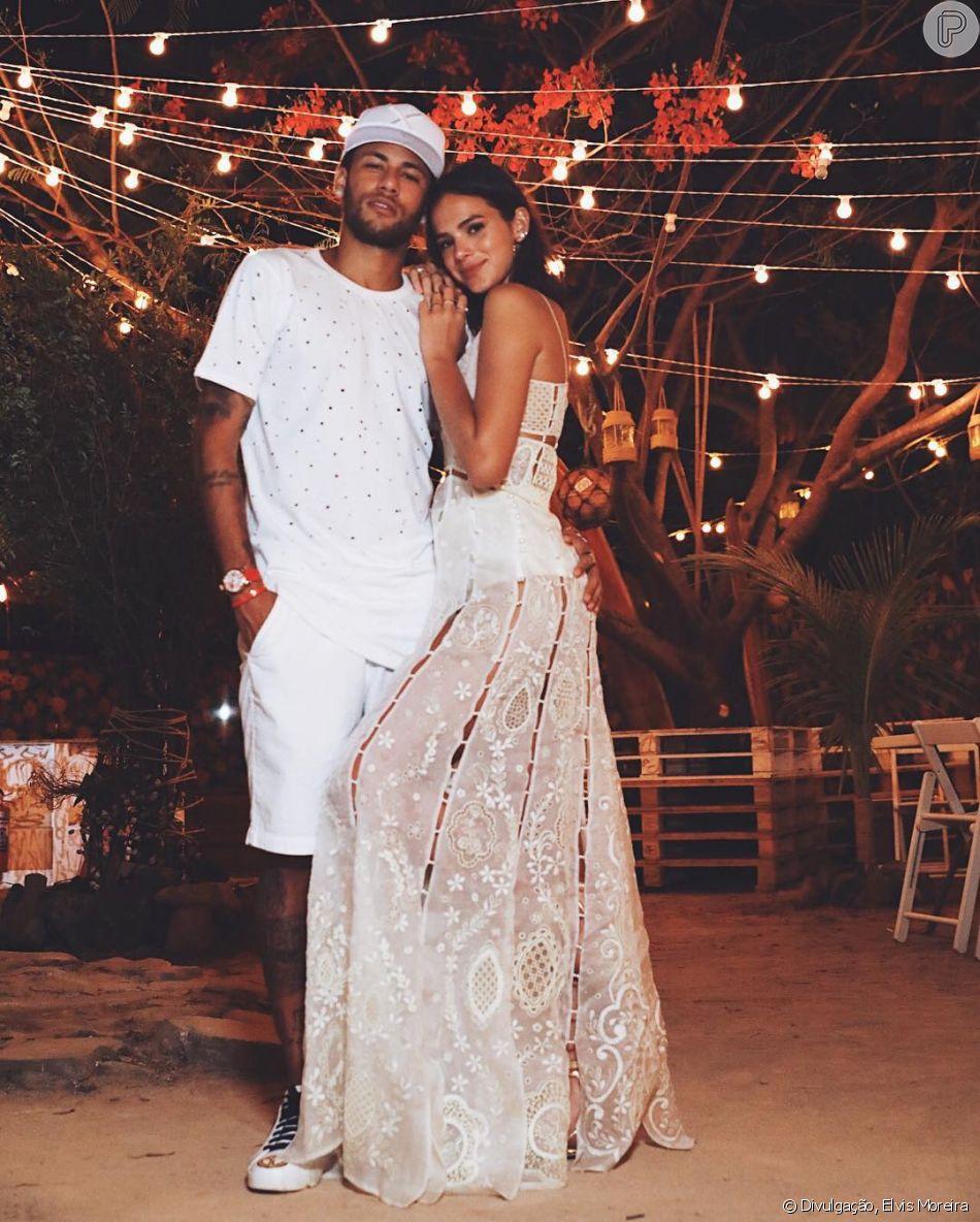Separado, Neymar revelou ter planos de casamento com Bruna Marquezine, como revelou em entrevista no Esporte Espetacular