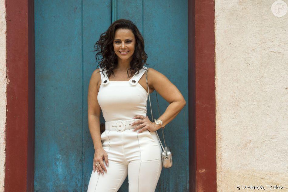 Neide (Viviane Araujo) fica chocada ao descobrir que pode ser mãe de Luz (Marina Ruy Barbosa) nos próximos capítulos da novela 'O Sétimo Guardião': 'Como assim?! Não pode ser... Eu fiquei esses anos todos tão perto dela'