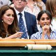 Apesar de rumores de rivalidade entre Meghan Markle e Kate Middleton, a briga aconteceu entre William e Harry