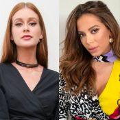 Identificação fashion! Marina Ruy Barbosa elogia look de Anitta: 'Tenho esse'