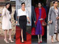Mamãe versátil! 35 looks de Meghan Markle provam que moda e gravidez são aliadas