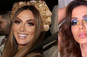 Nicole Bahls admite erro em look para festa de Anitta: 'Achei que era a caráter'