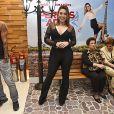 Naiara Azevedo esteve na  pré-estreia do filme 'De Pernas pro Ar 3'