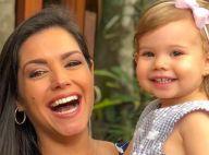 Fã de 'Frozen'! Thais Fersoza filma filha, Melinda, cantando 'Let it Go' na cama
