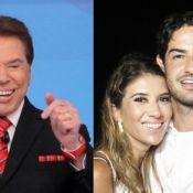 Pato ganha aprovação do sogro, Silvio Santos, em namoro com Rebeca: 'Divertido'