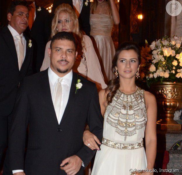 Ronaldo e Paula Morais devem subir ao altar em abril após cancelaram cerimônia