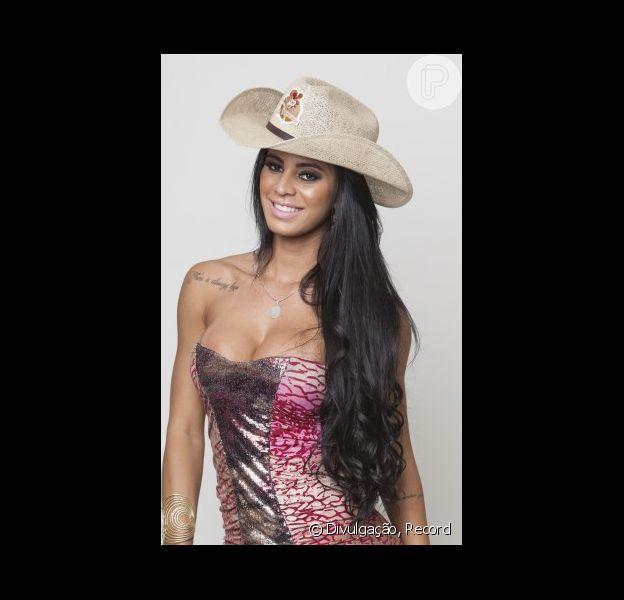 Lorena Bueri se desentendeu com Roy Rosselo em 'A Fazenda'