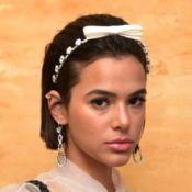 Marquezine reage e é apoiada após ser criticada por visual:'Amando cabelo curto'