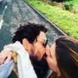 Cauã Reymond e Mariana Goldfarb estão juntos desde 2016: no ano passado, ficaram algum tempo separados diante de um breve rompimento