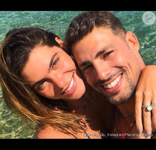 Casados! Cauã Reymond e Mariana Goldfarb oficializaram união; festa será em Minas Gerais no sábado, dia 13 de abril de 2019