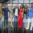 Hugo Bonemer se apresentou no 'Show dos Famosos', quadro de sucesso do 'Domingão do Faustão', no mesmo grupo que a cantora Ludmilla, o sambista Diogo Nogueira e a Danielle Winits.