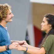 Após beijos no 'BBB19', Alan e Hana decidem ser amigos: 'Manter nossa parceria'