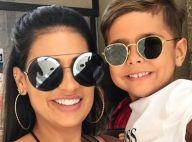 Filho de Simone, Henry vai a festinha com look Gucci de R$2,8 mil: 'Coisa linda'
